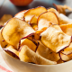Enjoy homemade healthy, crispy, crunchy and salty chips